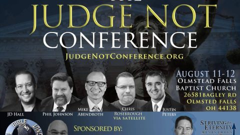"Pastor Jordan Hall | ""Thou Shall Not Judge"" Sermon 