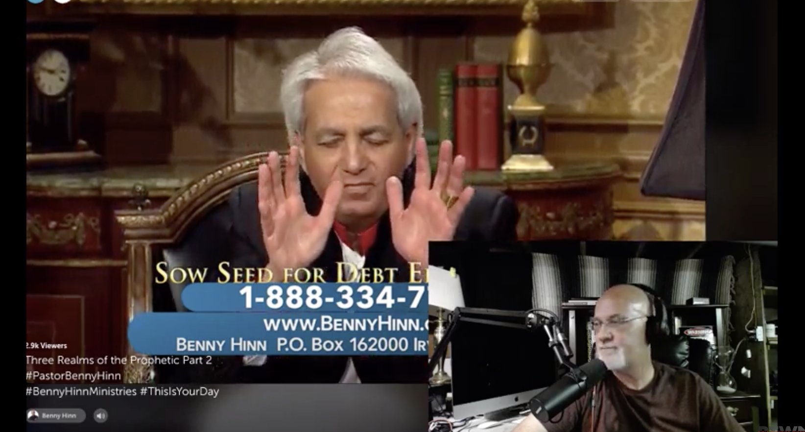 Benny Hinn Repents Then Returns To His Sin! | Bible Thumping